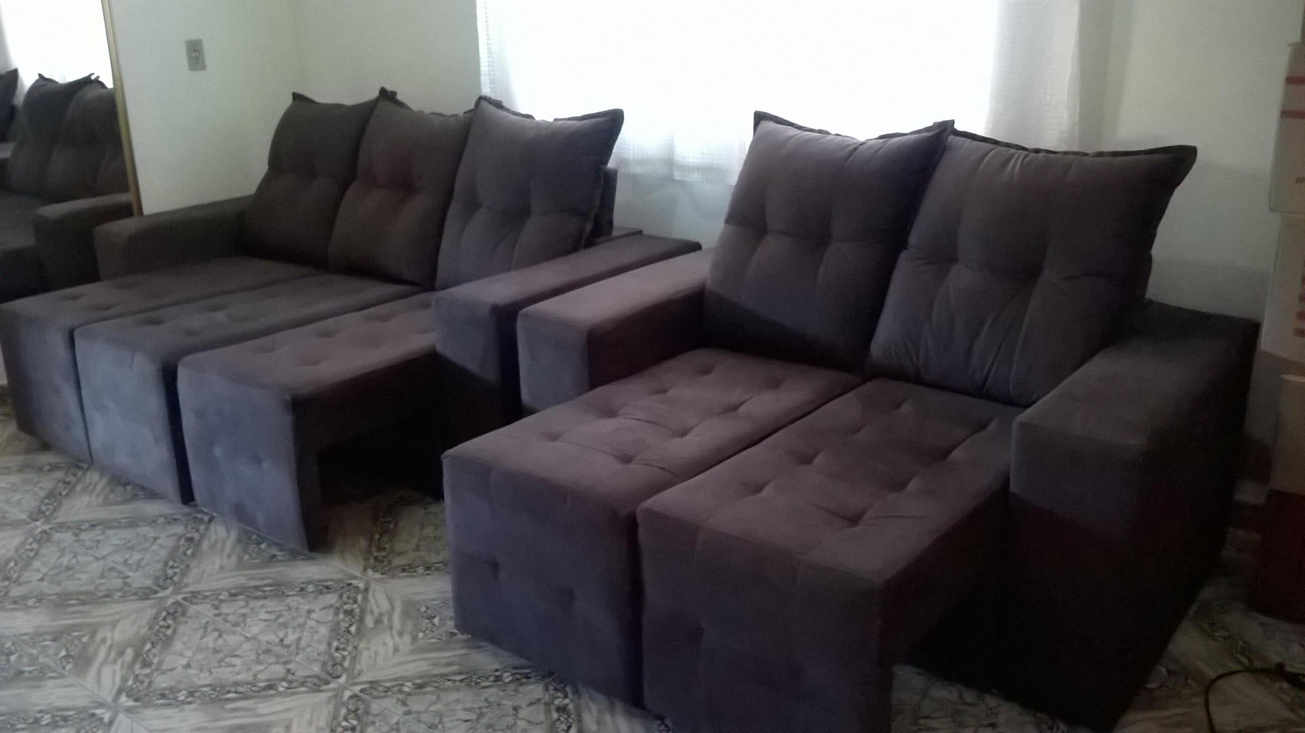Sofa Reclinavel E Retratil Com Rodinha De 2 E 3 Lugares Classificados